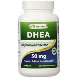 BEST NATURALS DHEA FORMULA ENERGETICA 50 MG 120 CAPSULAS