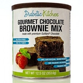 GOURMET CHOCOLATE BROWNIE MIX DULCE PARA DIABETICOS 354 GRAMOS