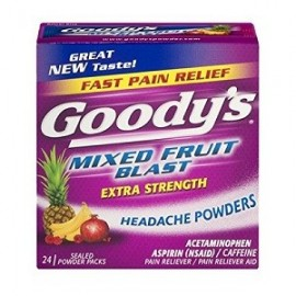 GOODYS EXTRA STRENGTH HEADACHE POWDERS 24 PAQUETES