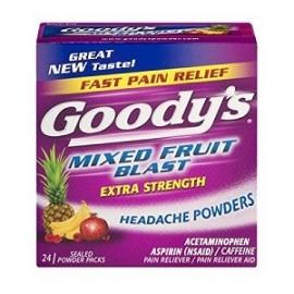 GOODYS EXTRA STRENGTH HEADACHE POWDERS 24 PAQUETES