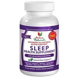 ACTIVA NATURALS SLEEP AID SUPLEMENTO PARA DORMIR BIEN 90 CAPS