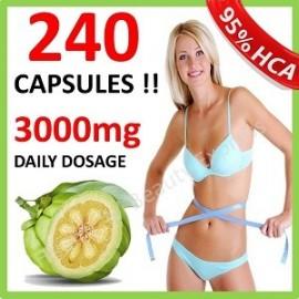 DAILY GARCINIA CAMBOGIA WITH HCA DIETA ADELGAZANTE 3000 MG 240 CAPS