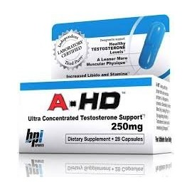 A-HD ANDROGENIC TESTOSTERONE SUPPORT 28 CAPSULAS