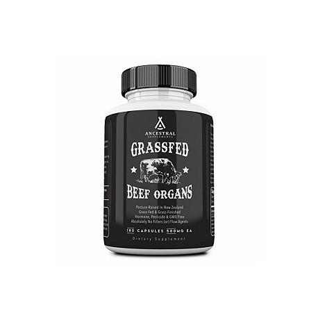 GRASSFED BEEF ORGANS 100 CAPSULAS