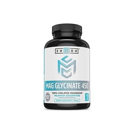 MAG GLYCINATE 450 MG 180 CAPSULAS