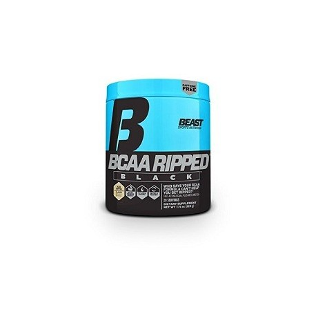 BCAA RIPPED BLACK 220 GRAMOS