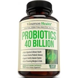 PROBIOTICS 40 BILLION 60 CAPSULAS
