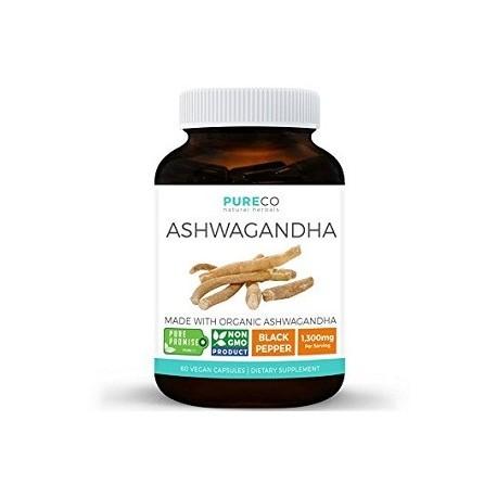 ASHWAGANDHA 1300 MG 60 CAPSULAS