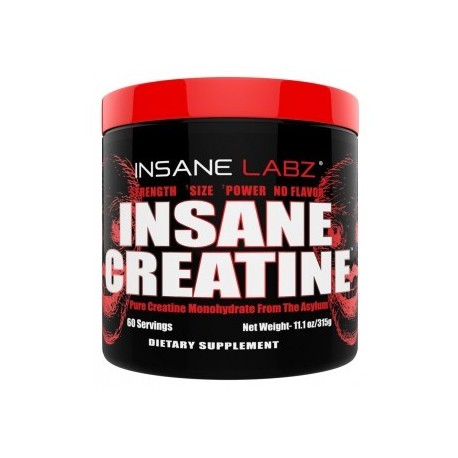 INSANE CREATINE 315 GRAMOS
