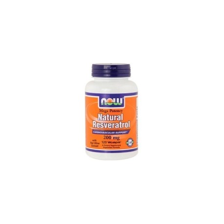 Resveratrol 200mg, 60 capsulas