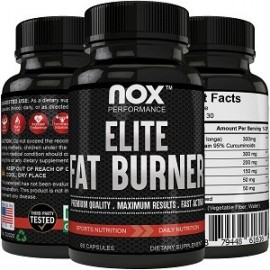 NOX ELITE FAT BURNER 60 CAPSULAS