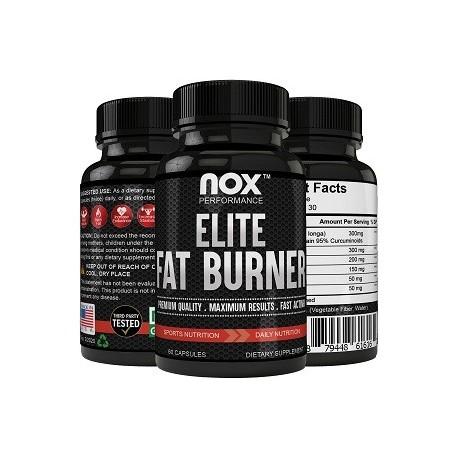 NOX ELITE FAT BURNER 60 CAPSULAS