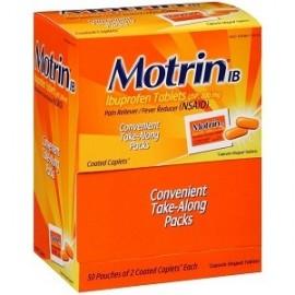 MOTRIN IBUPROFEN PAIN RELIEF 100 CAPSULAS