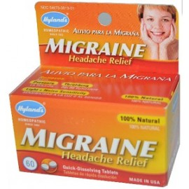 MIGRAINE HEADACHE RELIEF 60 TABLETAS
