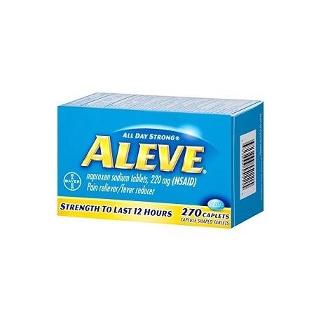 ALEVE NAPROXEN 270 CAPSULAS