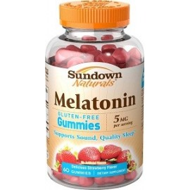 SUNDOWN MELATONIN 5 MG 60 GOMITAS