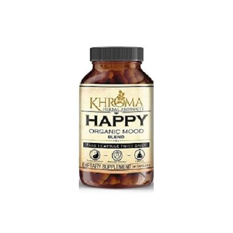 HAPPY ORGANIC MOOD 60 CAPSULAS