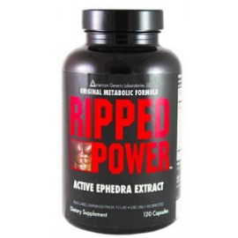 RIPPED POWER EPHEDRA 120 CAPSULAS