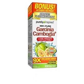 PURE GARCINIA CAMBOGIA WITH GREEN COFFEE 100 CAPSULAS