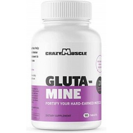 L GLUTAMINE 1000 MG RECOVERY SUPPLEMENT 100 CAPSULAS