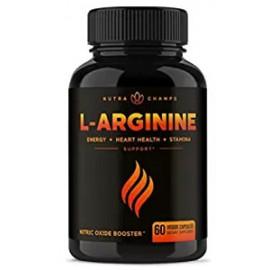 L ARGININE ENERGY AND STRENGTH 60 CAPSULAS