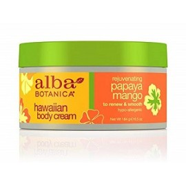 ALBA BOTANICA HAWAIIAN BODY CREAM 184 GRAMOS