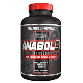 ANABOL 5 BY NUTREX 120 CAPSULAS