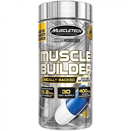 MUSCLE BUILDER 30 CAPSULAS