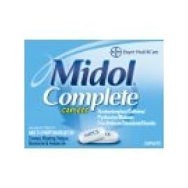 Midol 40 capsulas liquidas, para Reglas dolorosas