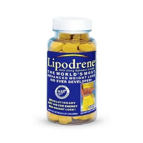-LIPODRENE 25 MG EPHEDRA(100 capsulas)