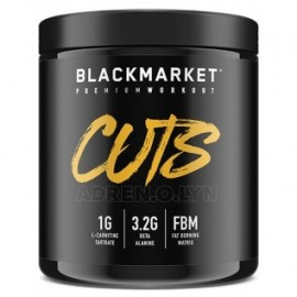 BLACK MARKET CUTS PRE WORKOUT 240 GRAMOS