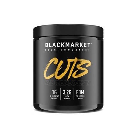 BLACK MARKET CUTS PRE WORKOUT 240 GRAMOS