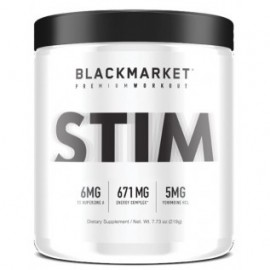 BLACK MARKET STIM 220 GRAMOS