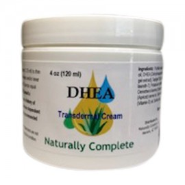 Naturally Complete DHEA 4 oz Jar | Hecho con no-OGM Ingredientes y sin aroma