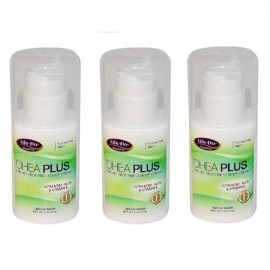 Life Flo Salud - DHEA Plus altamente absorbente Body Cream 2 oz (57 g) - 3 Packs