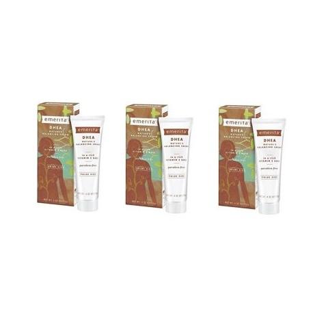 Emerita - DHEA Balancing Cream 4 onza - 3 Packs