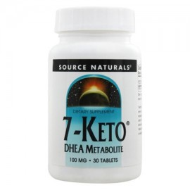 Source Naturals - 7-Keto DHEA metabolito 100 mg. - 30 Tabletas