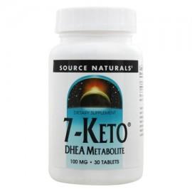 Source Naturals - 7-Keto DHEA metabolito 100 mg. - 30 Tabletas