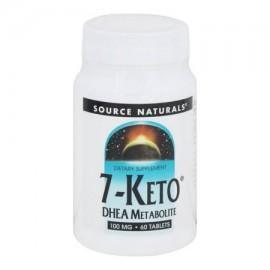 Source Naturals - 7-Keto DHEA metabolito 100 mg. - 60 tabletas