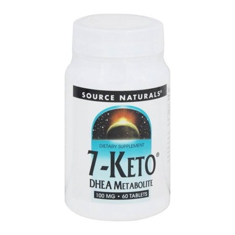 Source Naturals - 7-Keto DHEA metabolito 100 mg. - 60 tabletas