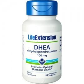Life Extension DHEA 100 mg 60 cápsulas vegetales paquete de 2