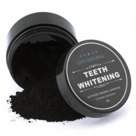 Orgánica de coco activado dientes naturales para blanquear la de carbón en polvo blanqueador de dientes