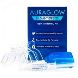 AuraGlow Efectos radiantes Blanqueamiento de dientes Kit - 35% de peróxido de carbamida - 20 tratamientos