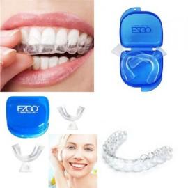 2pc dental termoformado Dientes Blanqueamiento moldeable bandejas de blanqueo blanqueador