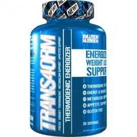 Evlution Nutrition Trans4orm termogénico energizante quemador de grasa pastillas para perder peso energía y concentración int