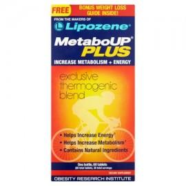 Lipozene las píldoras de pérdida de peso para MetaboUP Plus Aumento de metabolismo y energía tabletas 60 Ct