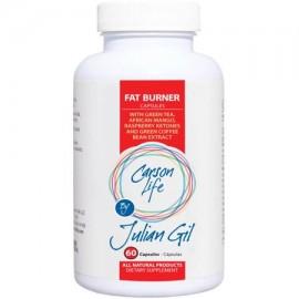 CARSON LIFE por la pérdida píldoras Julián Gil quemador de grasa peso 60 Ct