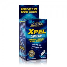 MHP Xpel Maximum Strength Diurético 80 Cápsulas
