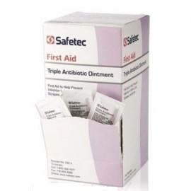 Safetec - Box Triple Ungüento de antibiótico paquete de 09 g de 144 paquetes MS-60789