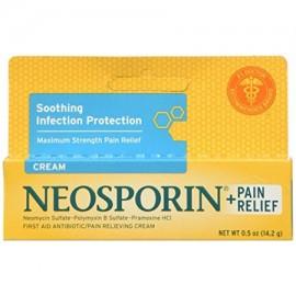 Neosporin Maximum Strength Antibiotic - Pain Relief Cream 0.5oz Each